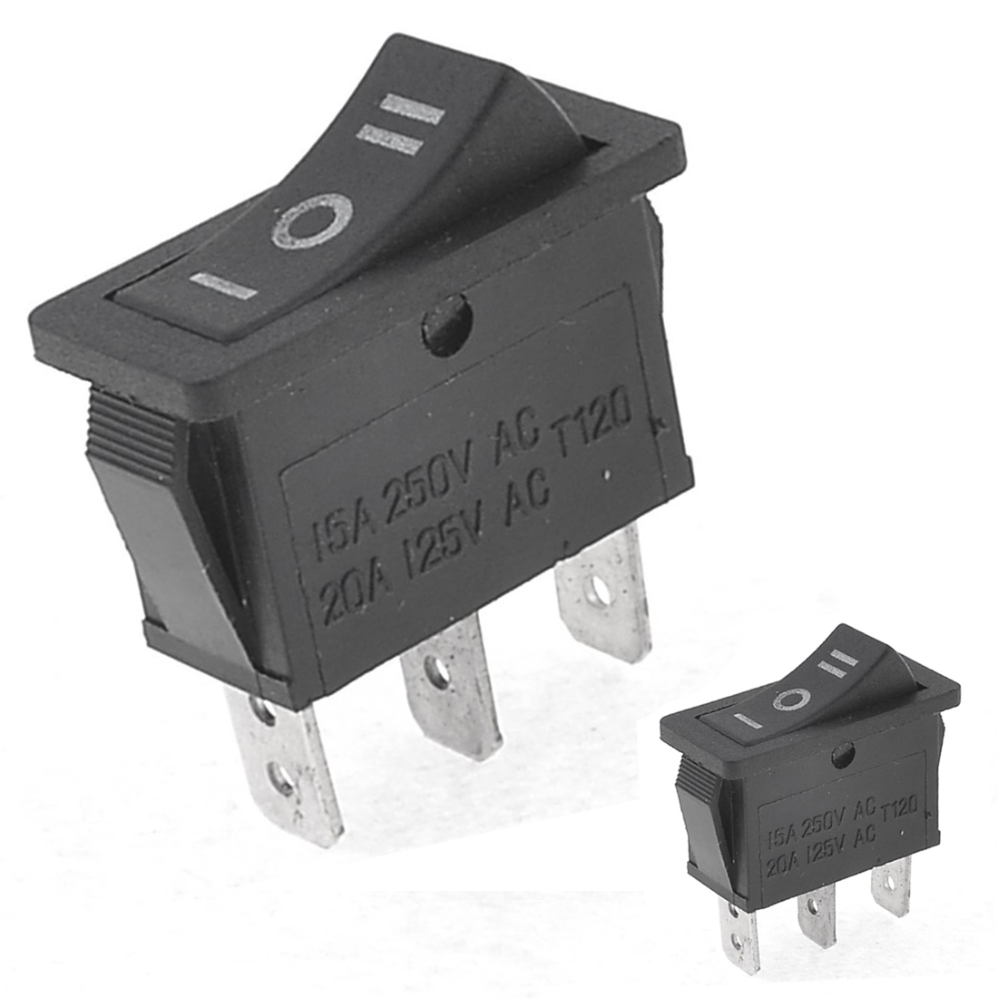 Ac15a  250v 20a  125v 3 Pin Spdt On