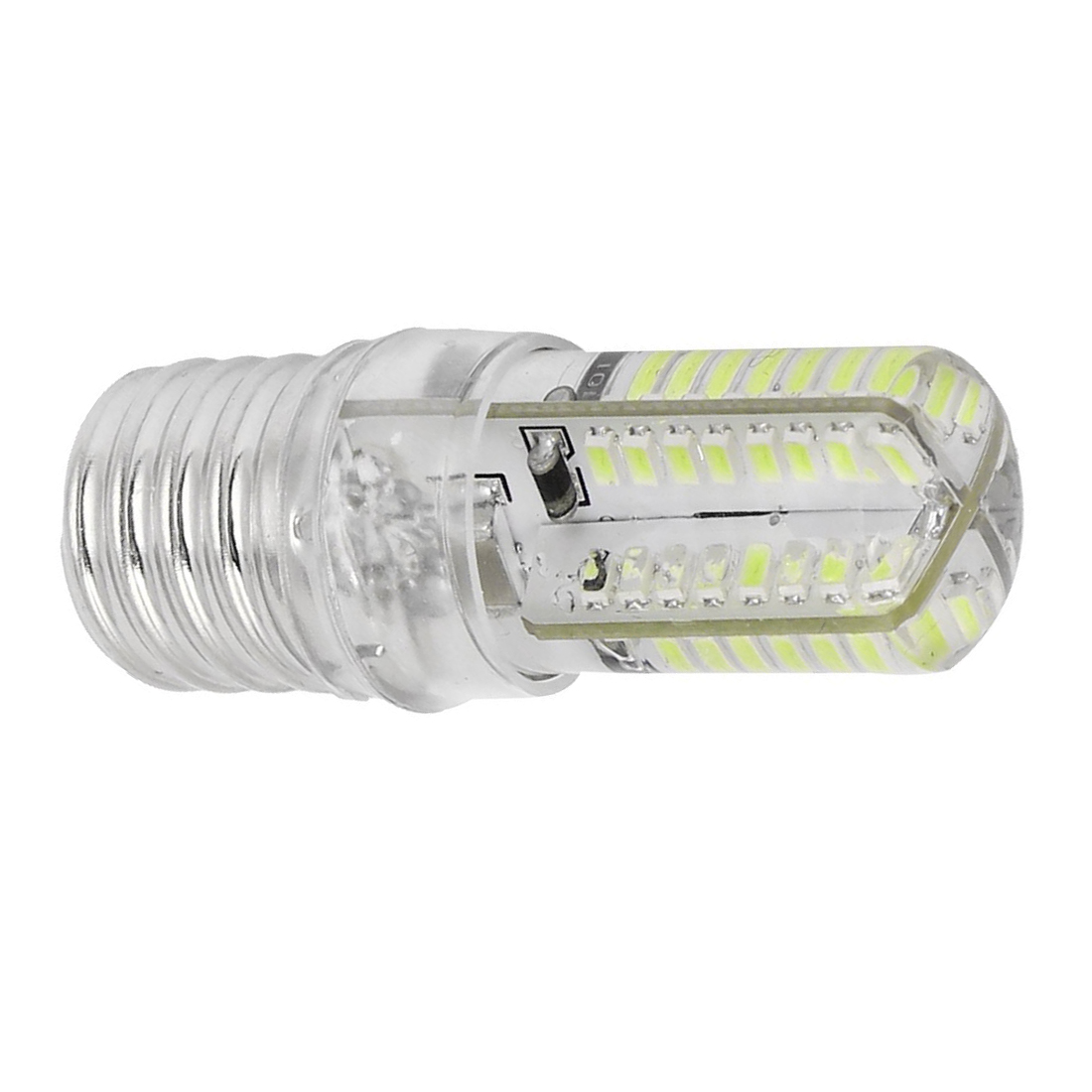 E17 socket 5w 64 led lamp bulb 3014 smd light pure white ac 110v 220v t1 ebay T type light bulb