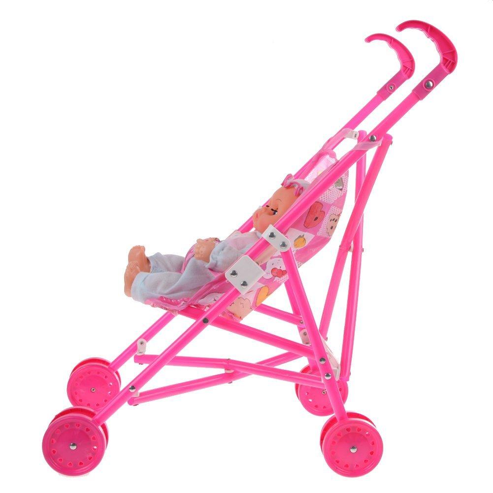 M puppen buggy kinderwagen babywagen faltbare spielzeug