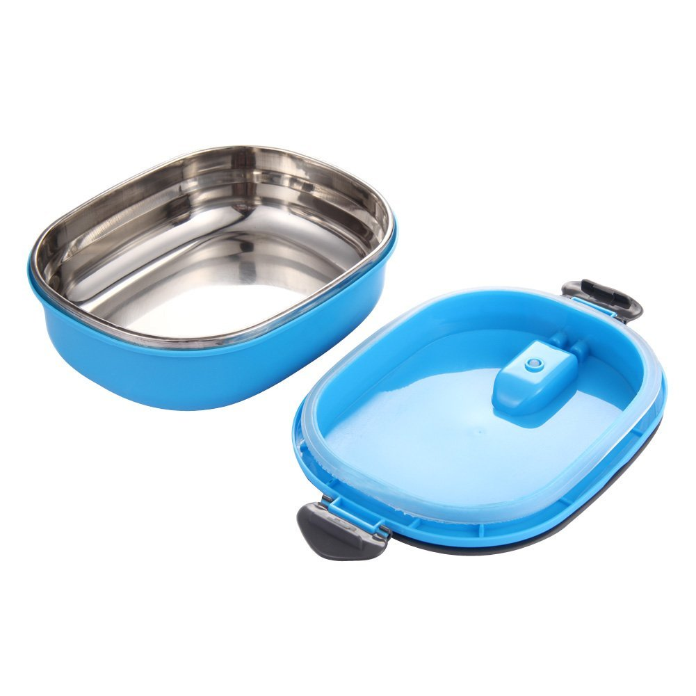 Stainless Steel Insulation : Insulated lunch box stainless steel food storage container