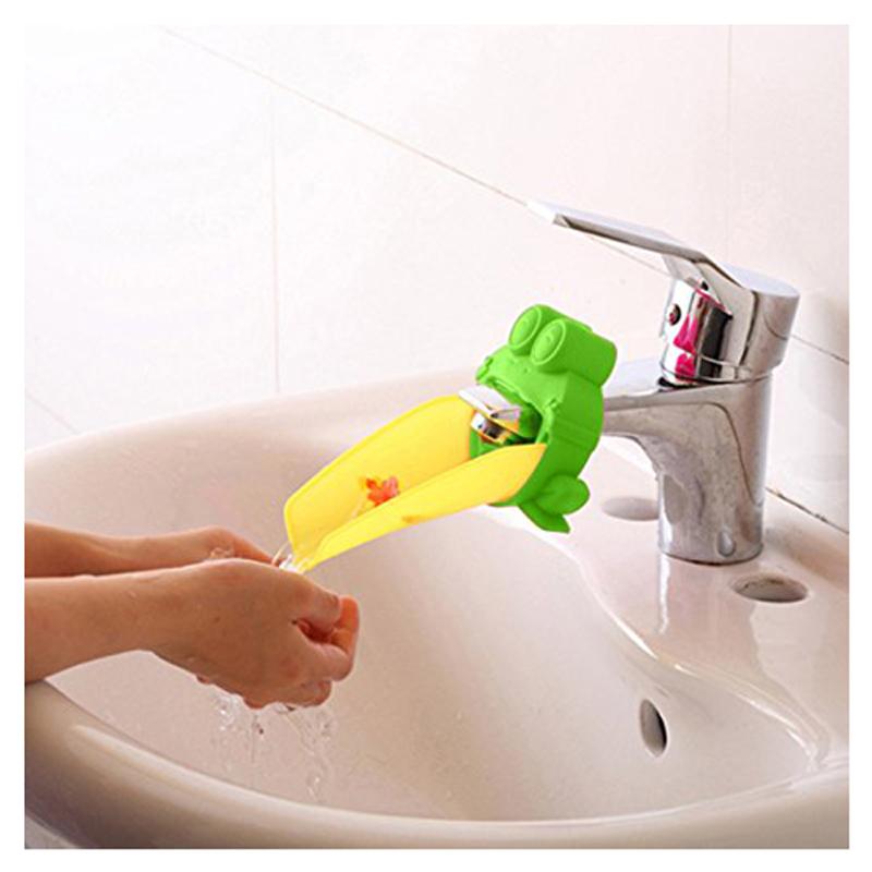 Bathroom Sink Faucet Chute Extender Kids Washing Hands Water Chute ...