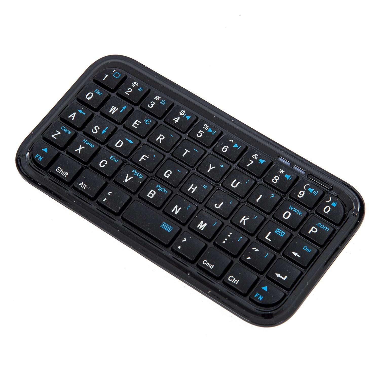 black mini bluetooth wireless keyboard for iphone 4 ipad sp ebay. Black Bedroom Furniture Sets. Home Design Ideas