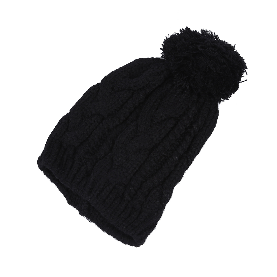 Baggy Bobble Hat Knitting Pattern : Warm Winter Unisex Men Women Knit Bobble Beanie Baggy Hat - AS eBay