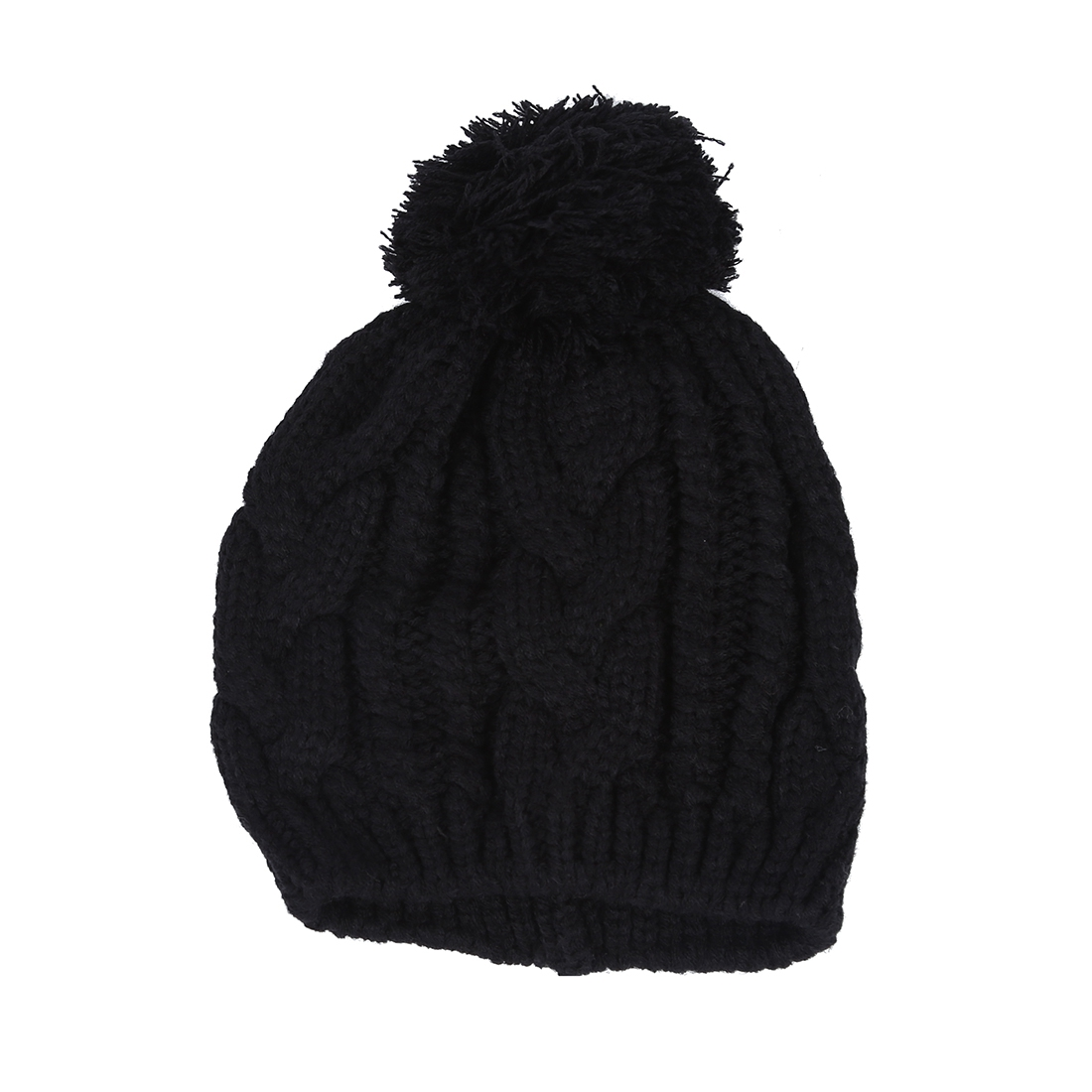 Warm Winter Unisex Men Women Knit Bobble Beanie Baggy Hat - AS eBay