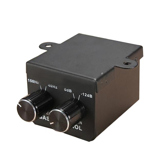 Car Amplifier Rca Gain Level Volume Knob Booster Audio