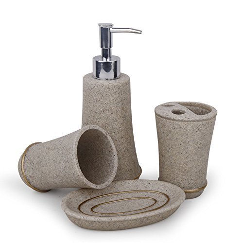 Accessory Modern 4pcs Bathroom Accessories Sets Concise
