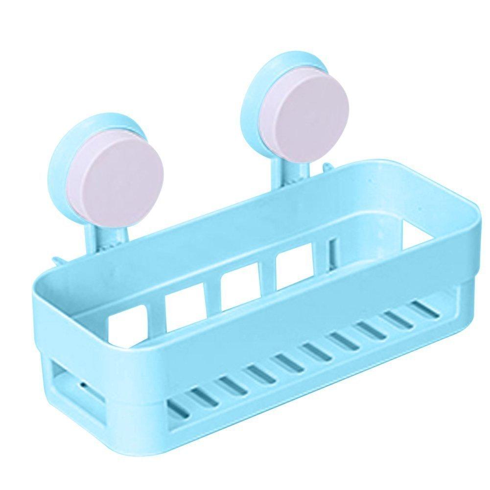 Bathroom shelf plastic shower caddy organizer tray with for Bathroom tray organizer