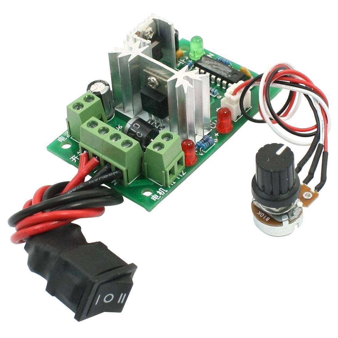 12V 24V 30V 120W PWM Adjustable Volt DC Motor Speed Controller CCM2 LW   eBay