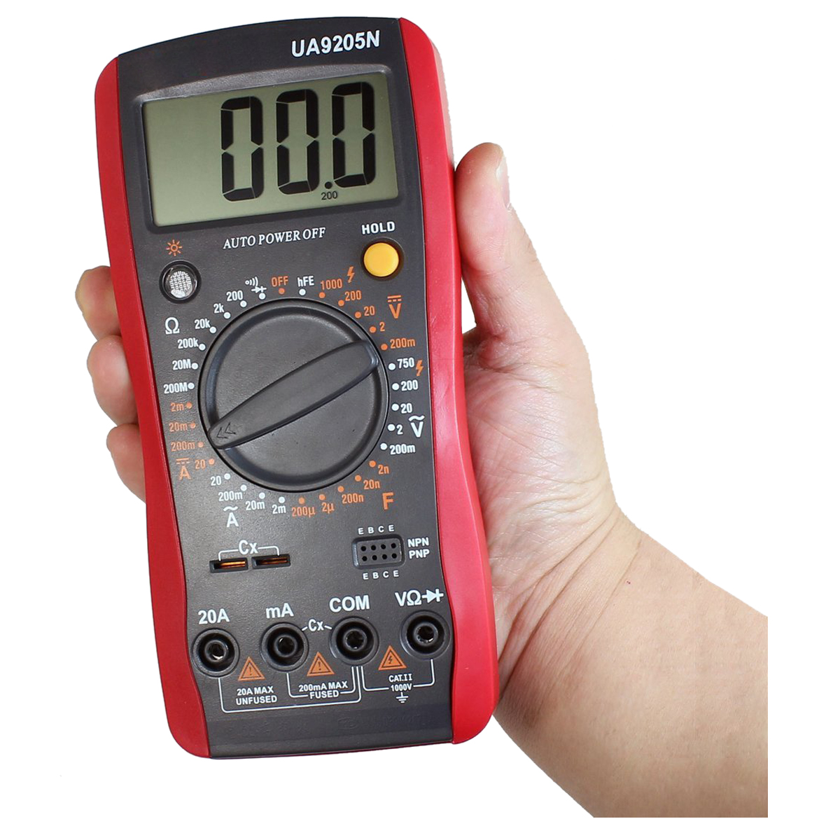 Check Ac Capacitor With Multimeter : Check electrolytic capacitor digital multimeter
