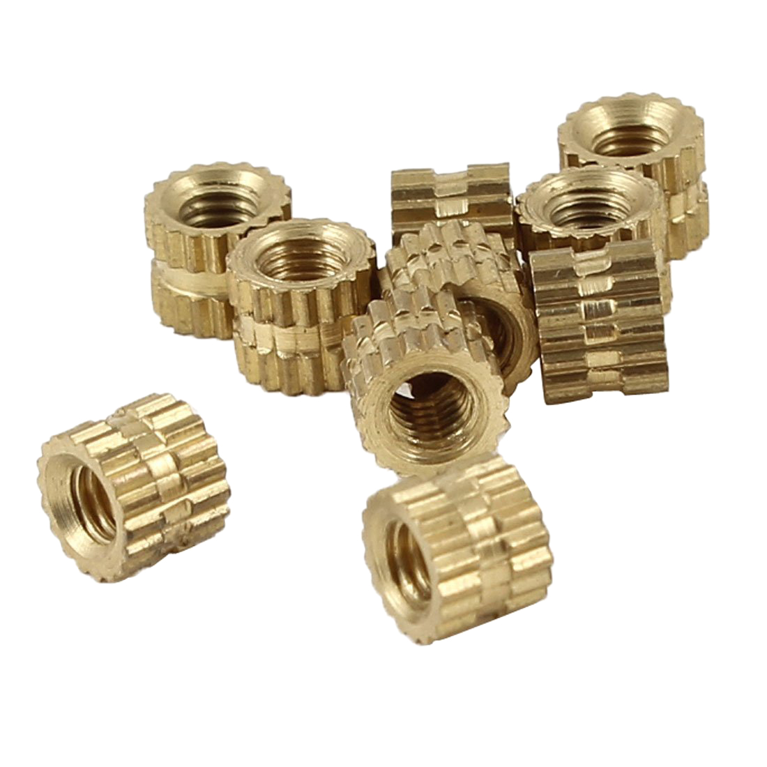 Injection molding mm fittings knurl thread