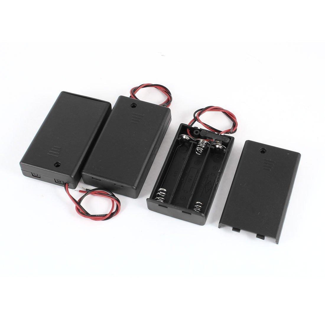 3 Stueck Zwei-Draht EIN/ AUS-Schalter 3 x 1,5 V AAA Batterie Halter ...