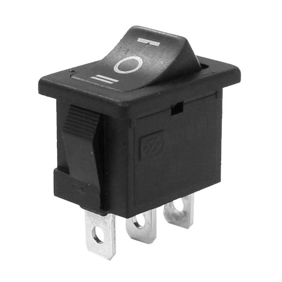 SPDT ON-OFF-ON 3 Position Schnapp Boot Wippschalter AC 250V// 6A 125V// 10A GN
