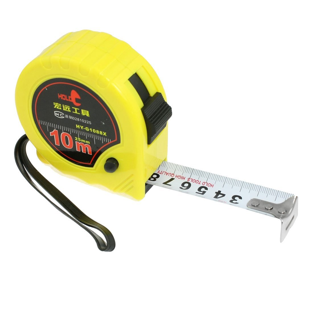 HOLD Self-Retract Flexible Metric Tape Measure Measuring ...