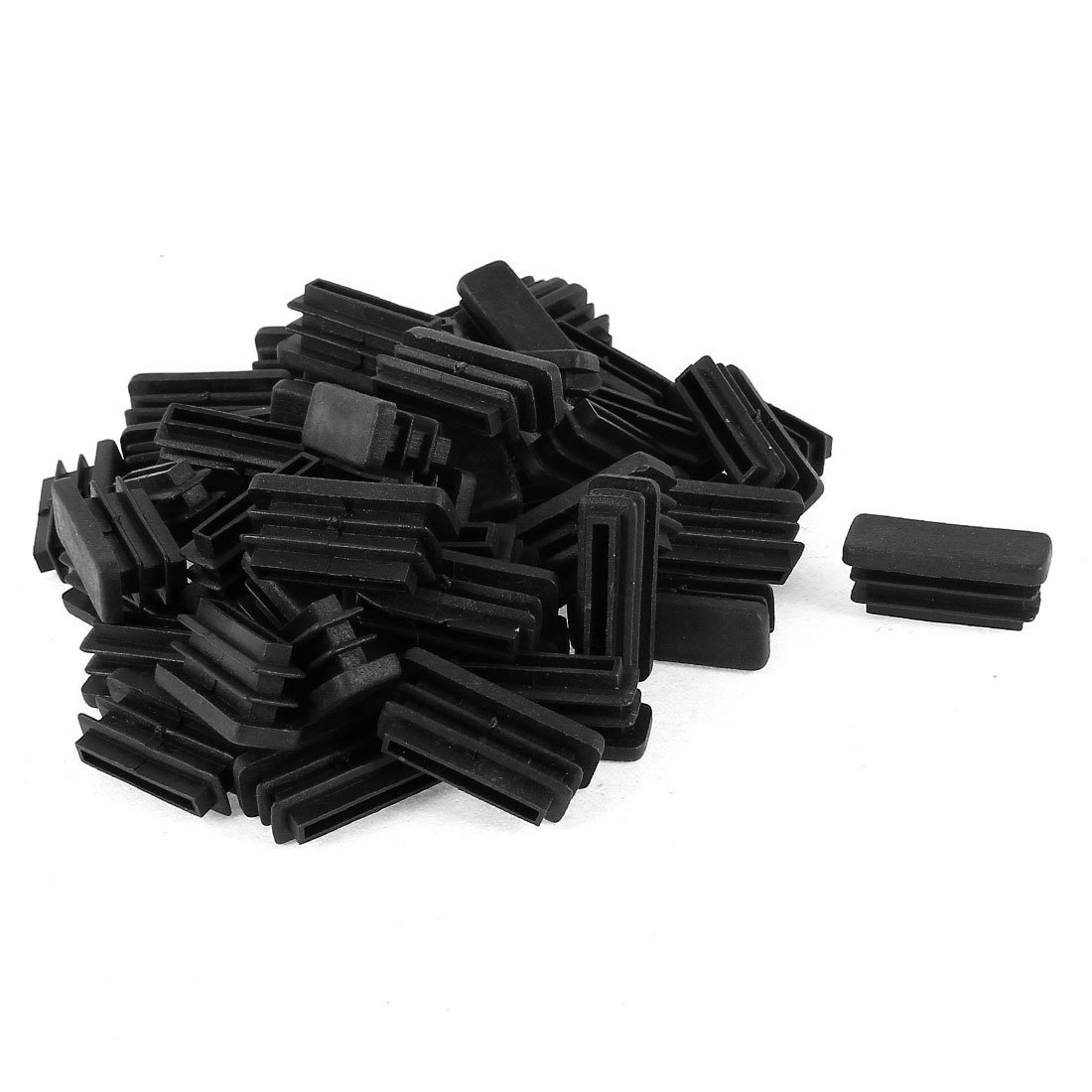 plastic rectangle plug furniture tubing protectors 10mm x 30mm 50 pcs cr ebay. Black Bedroom Furniture Sets. Home Design Ideas