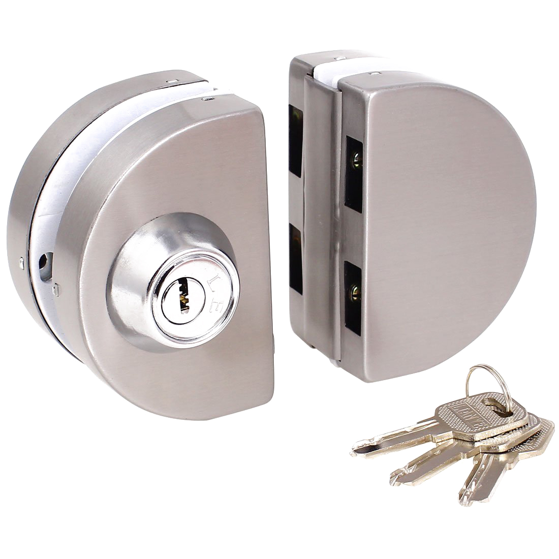 Slide Lock For Glass Door: PK 5X Entry Gate 10-12mm Glass Swing Push Sliding Door