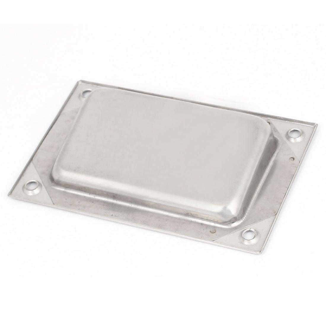 Steel recessed flush pull finger insert sliding door handle l3 ebay