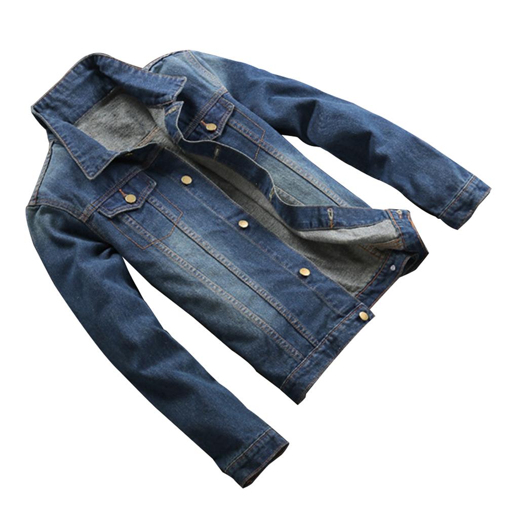 duenne jeansjacke herren dunkle jacke gy ebay
