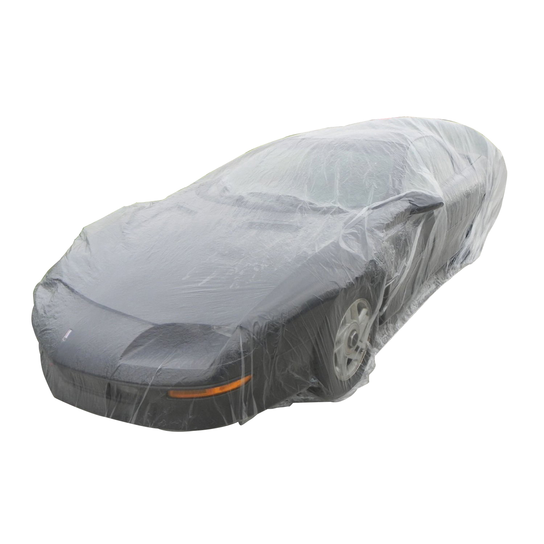 Sa Disposable Plastic Car Cover Dust Cover Rain Cover