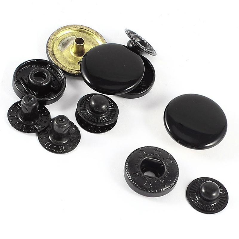 Boutons-pression convient pour le cuir 17mm 3 kit J1Y9 ZQ