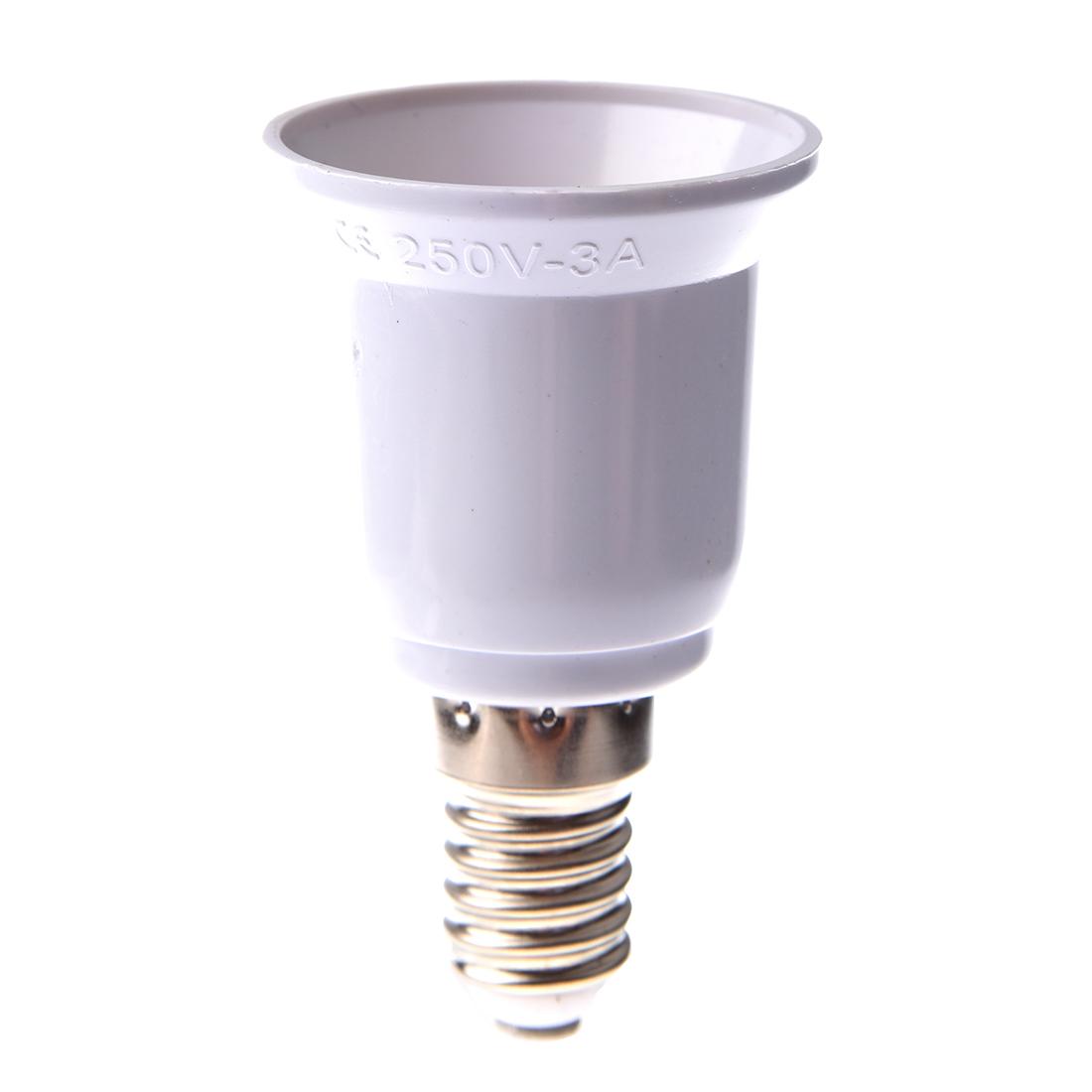 adaptateurs douille e14 e27 ampoule lampe led culot eclairage convertisseur ebay. Black Bedroom Furniture Sets. Home Design Ideas