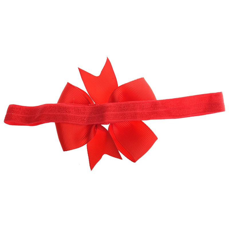 Black Details about  /1 Piece Baby Girls Hair Bow Tie Ribbon Decor Hairband Headband W4J9