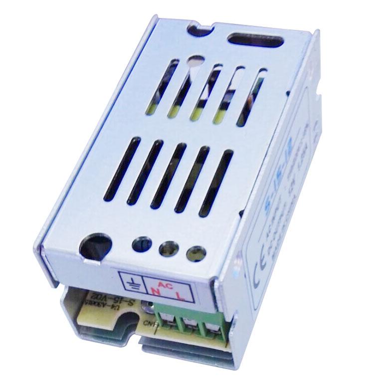 voltage transformer power supply ac 110 220v to dc 12v 1a silver ebay. Black Bedroom Furniture Sets. Home Design Ideas