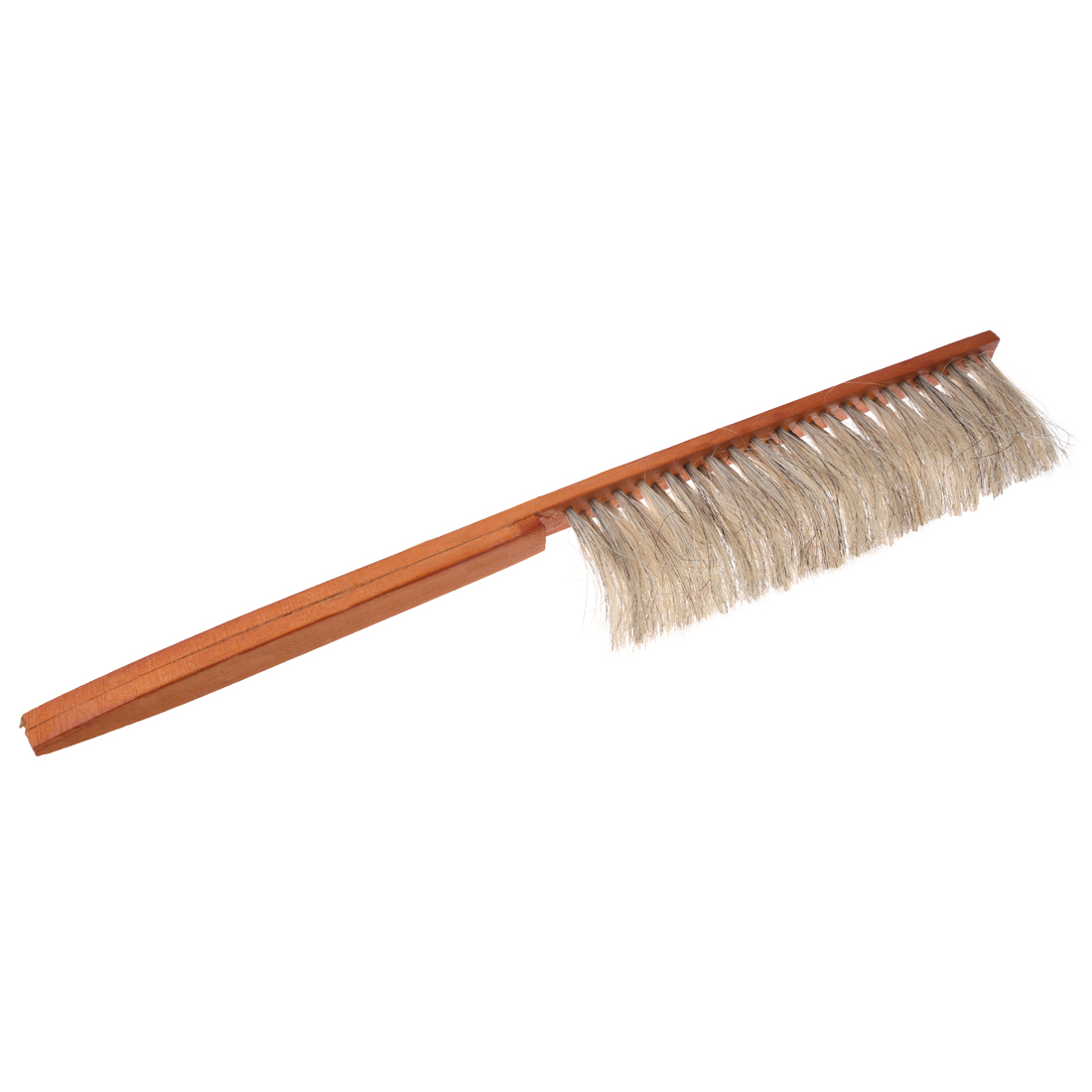 how to clean a wooden bristle brush
