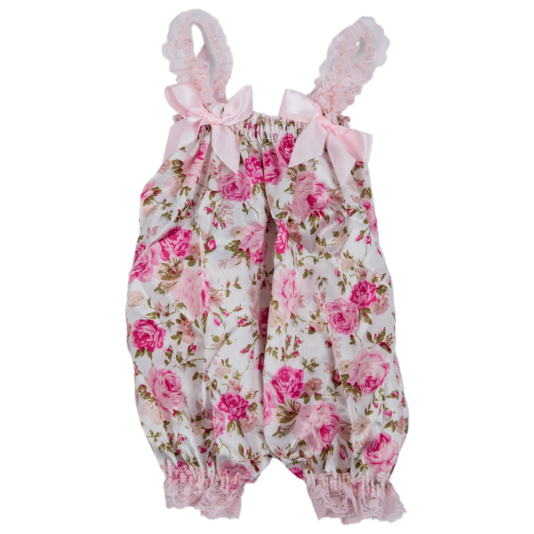 Newborn Infant Baby Girl Floral Ruffle Rompers Dress Tutu ...