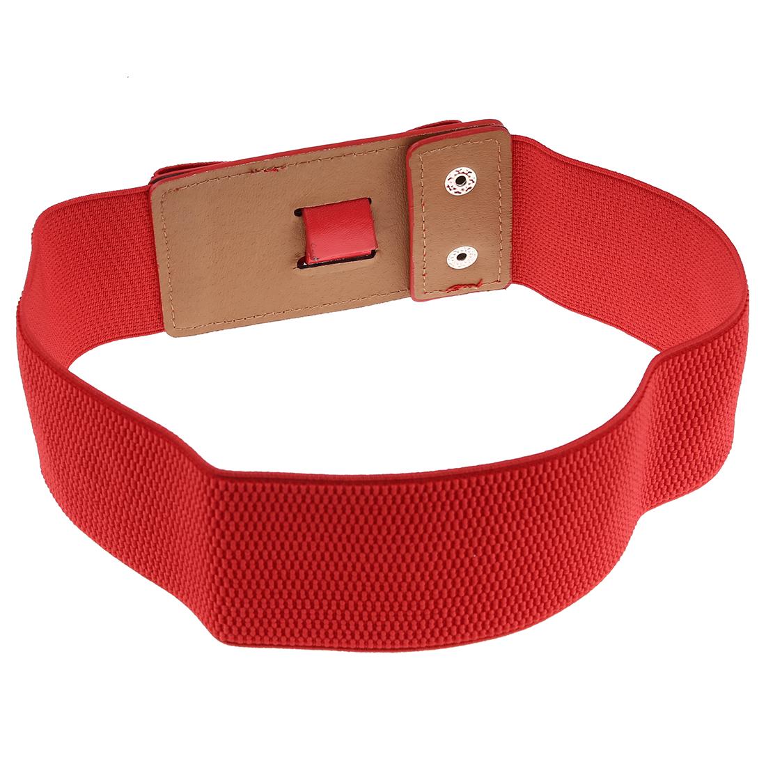 m9 damen breite elastische dehnung guertel rot ebay. Black Bedroom Furniture Sets. Home Design Ideas