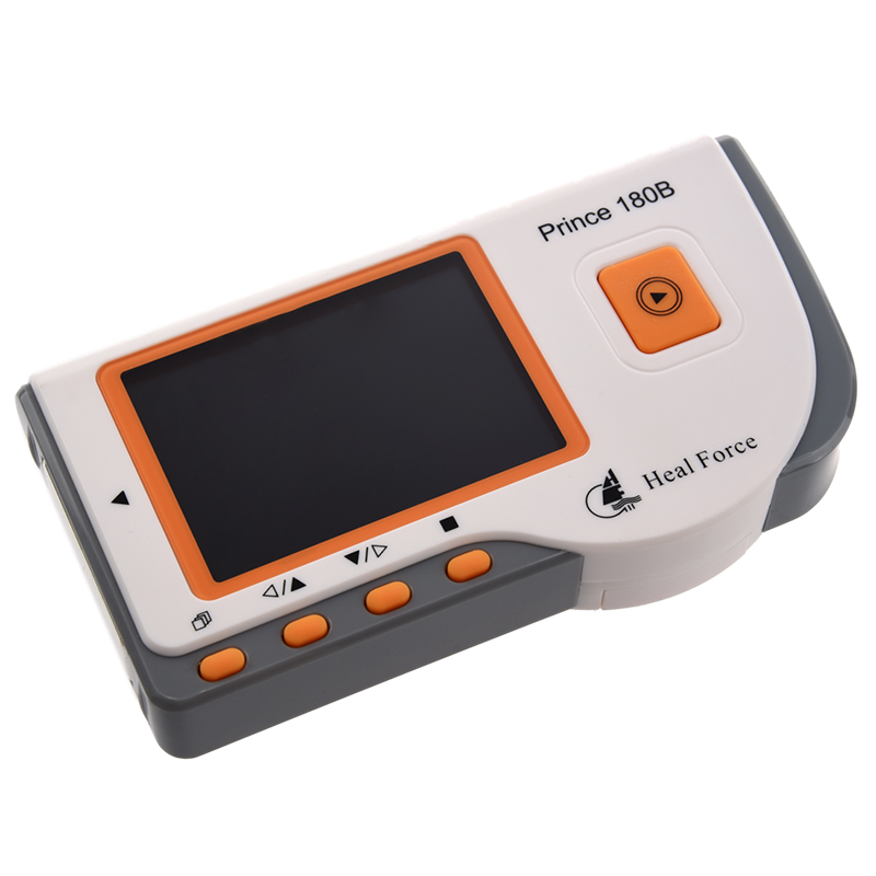 Mobiles Hand EKG-Geraet ECG-Monitor Patienten Monitor EKG-Kabel ...
