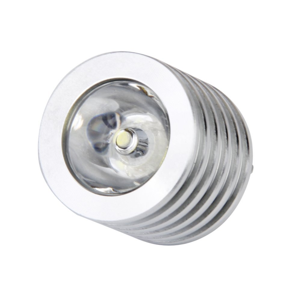 aluminium 3w usb led lampe sockel spotlight taschenlampe. Black Bedroom Furniture Sets. Home Design Ideas