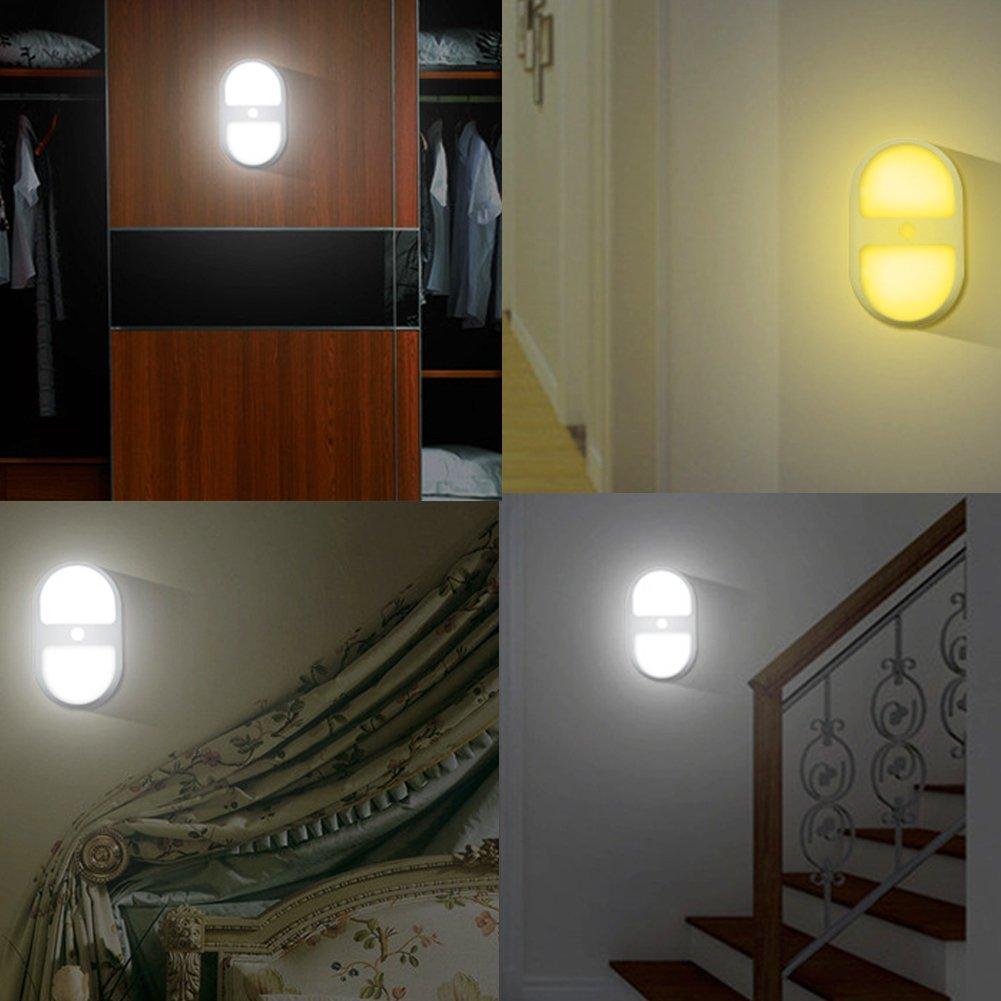 Nachtlicht mit bewegungsmelder lampe led nacht wand mit for Elder wand led