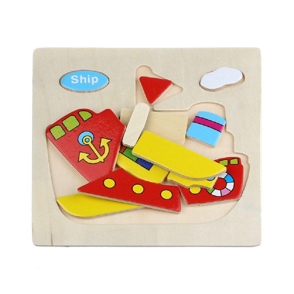 j4 schiff holz puzzle spielzeug fuer kinder ausbildung von. Black Bedroom Furniture Sets. Home Design Ideas