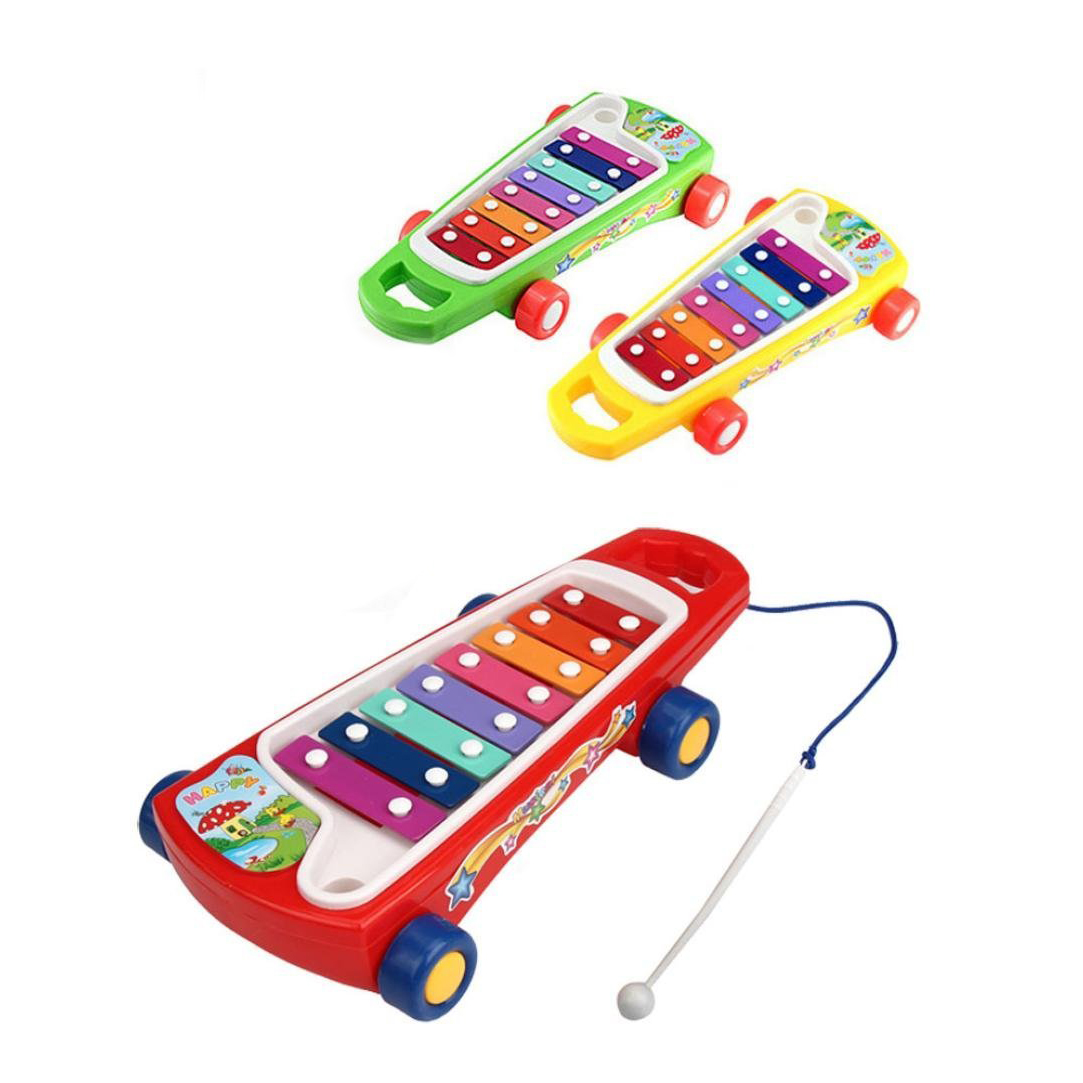 Baby skateboard kinder musik spielzeug note xylophon