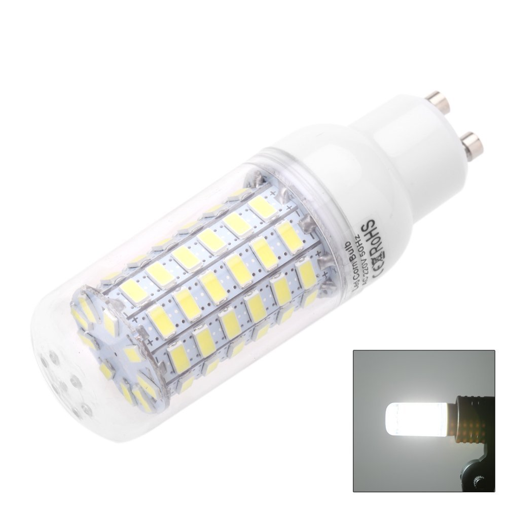 gu10 10w 5730 smd 69 led bulbs led corn light led lamp energy saving p6d5 ebay. Black Bedroom Furniture Sets. Home Design Ideas