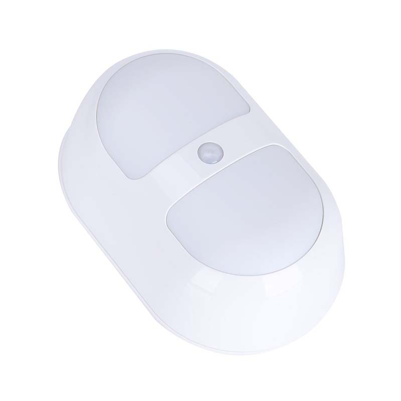 10X(Night Light with Motion Detector Lamp LED Night Wall with Reason PIR C F4M3)