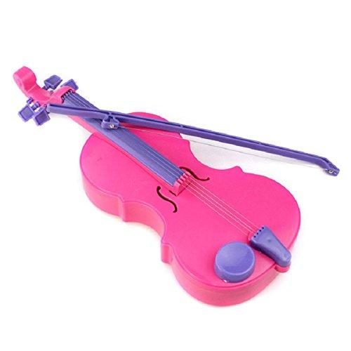 2X Holzspielzeug Musikinstrument Kinder Magie Geige Musik Singen Spielzeug Spass Geschenschen