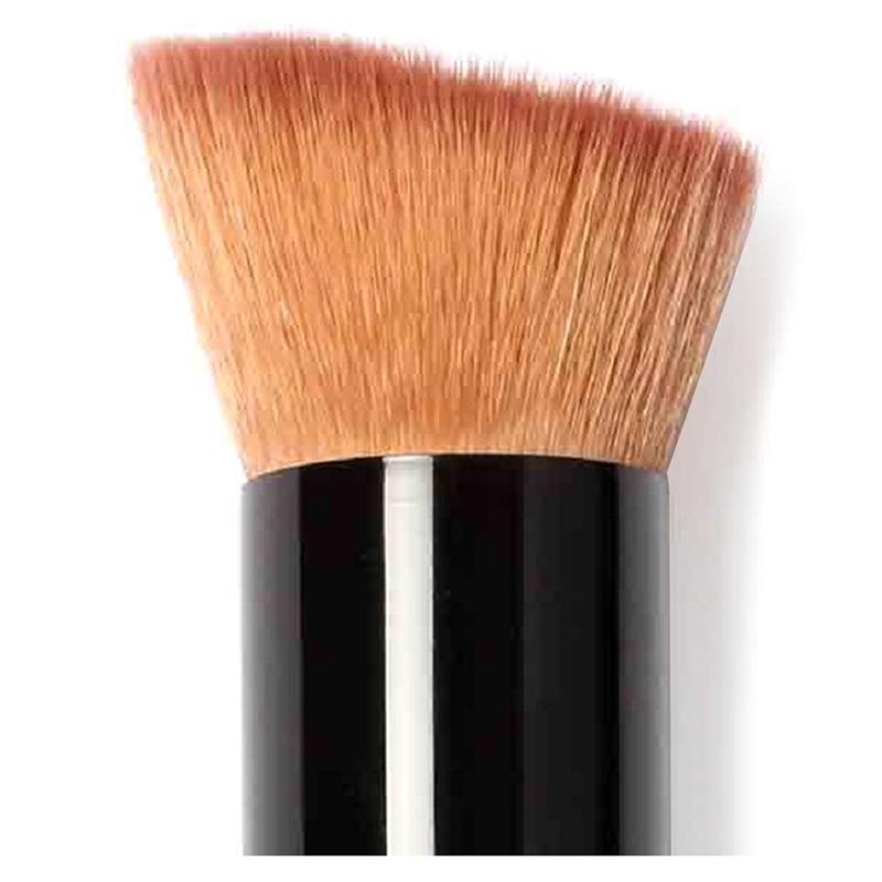 10X( Professionelle Make-up Pinsel Rouge Buerste Kosmetik Roetung Kabuki Bu A6M1
