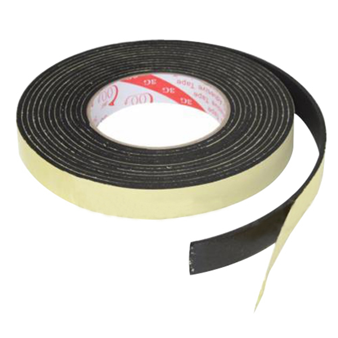 2X-5m-Single-Sided-Self-Adhesive-Foam-Tape-Closed-Cell-20mm-Wide-x-3mm-Thick-DW