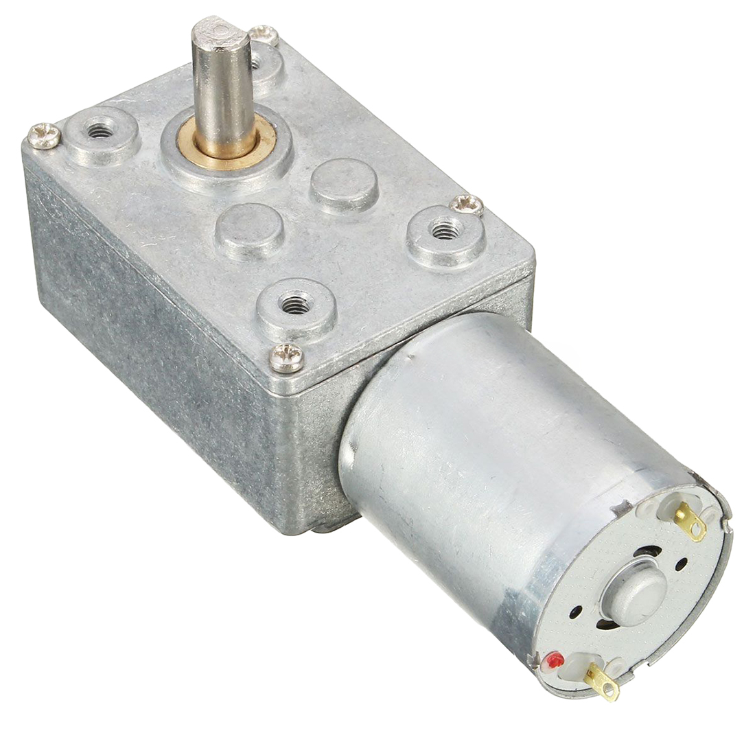 Right Angle Transmission : V rpm dc jgy worm turbo gear motor right angle