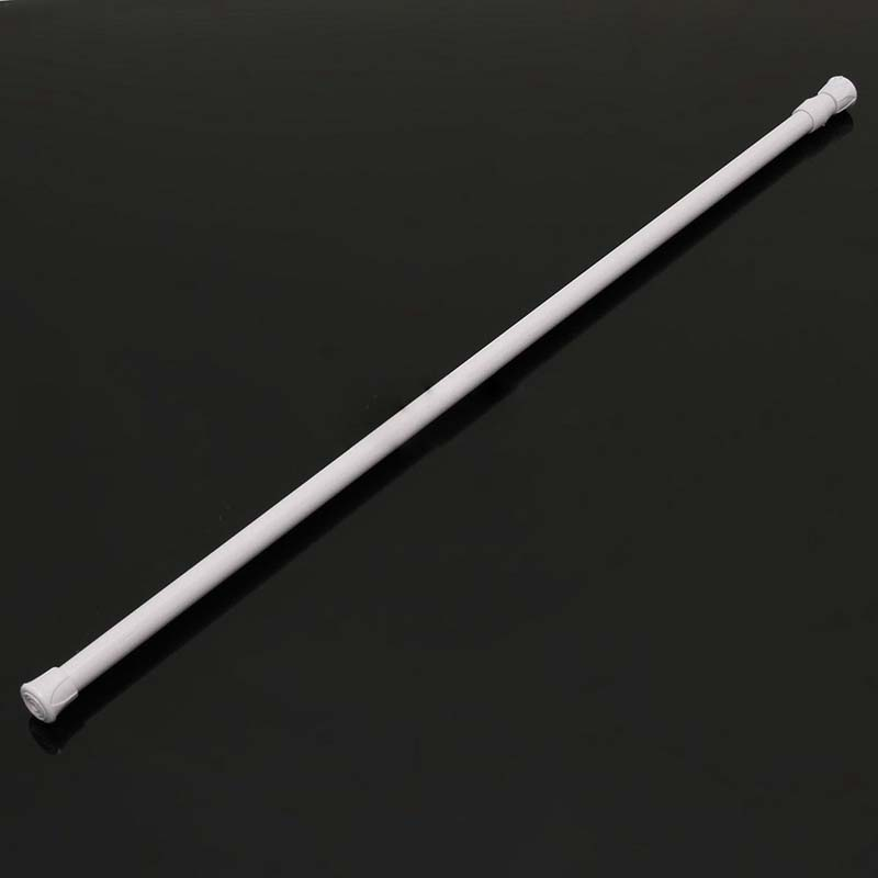 K9 Spring Loaded Extendable Telescopic Net Voile Tension Curtain Rail Pole Rod