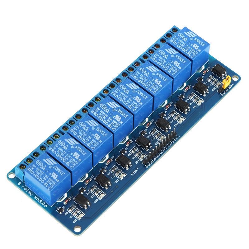 5V 8 Kanal Relaismodulplatine fuer Arduino AVR PIC MCU DSP ARM U6J8