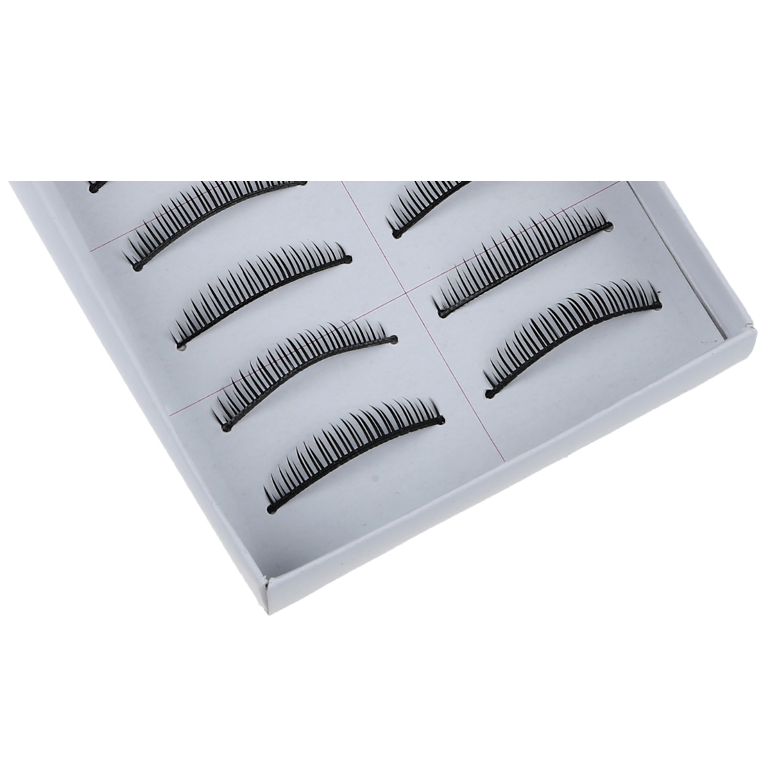 SS1 10 Pairs Fabulous Natural-Looking False Eyelashes Eye Lashs ...