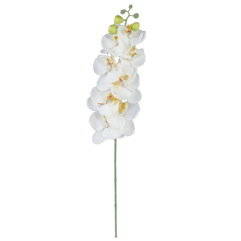 2 zweige schmetterling orchidee kuenstliche blumen fuer. Black Bedroom Furniture Sets. Home Design Ideas