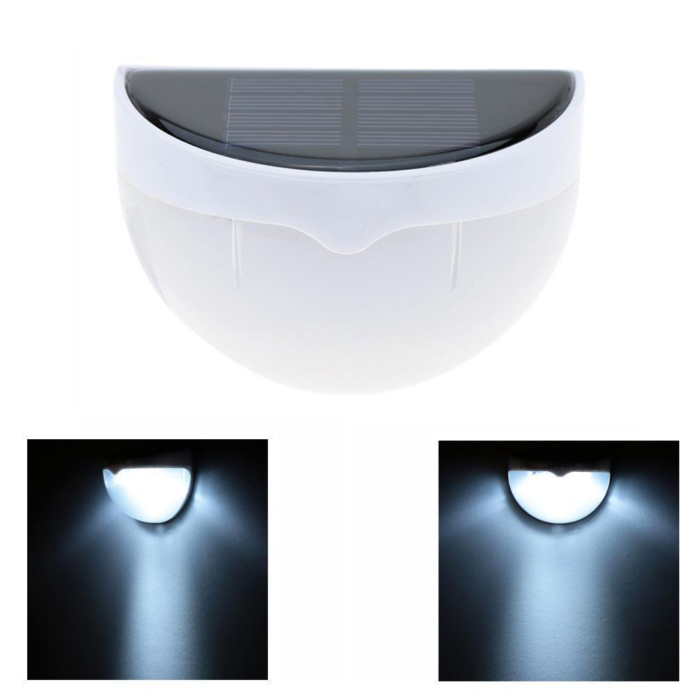 Wall Mounted Light Sensor Solar Power LED Lamp for Outdoor Driveway L2H8 eBay