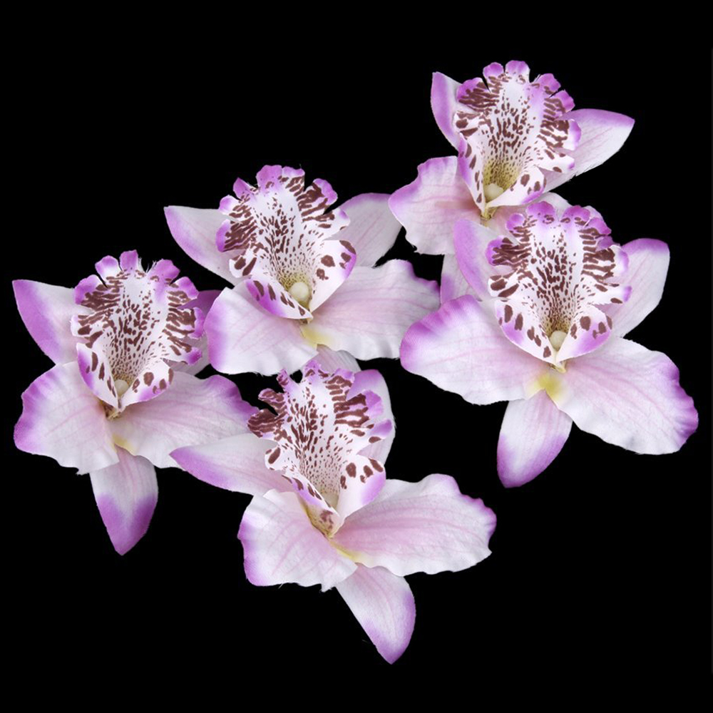 20-pcs-8cm-Simulation-Thailand-Orchid-Head-White-S7R7