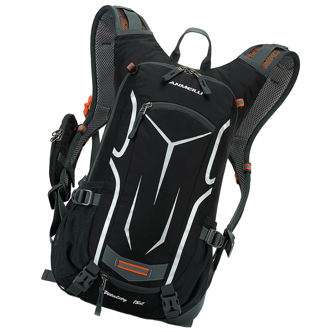 rucksack fahrrad fahren rucksack mit regen abdeckung des schwarz a1s7 ebay. Black Bedroom Furniture Sets. Home Design Ideas