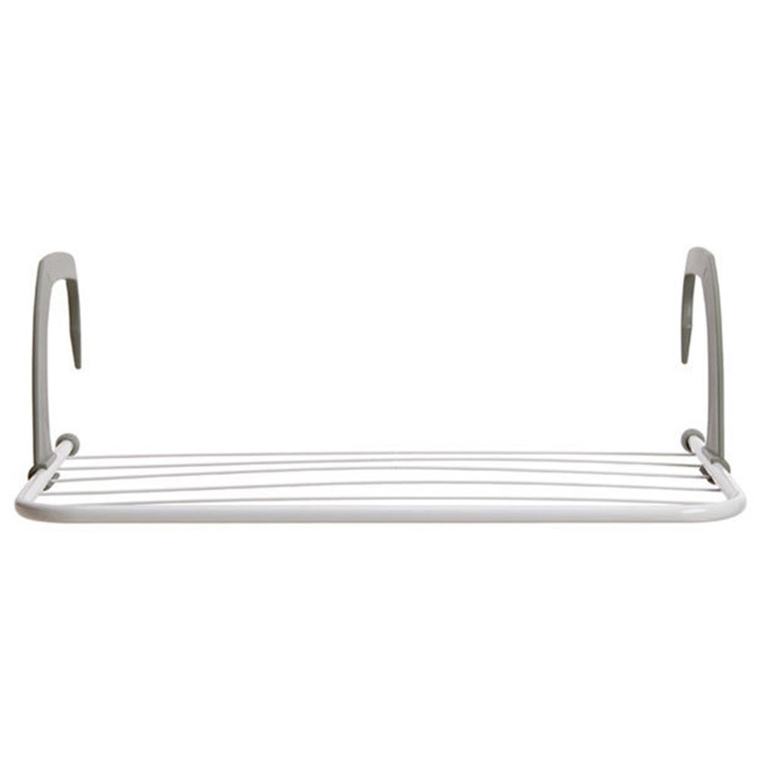 Towel Hanger 5 Bar Metal Portable Radiator Hanger Clothes Dryer Airer Rail