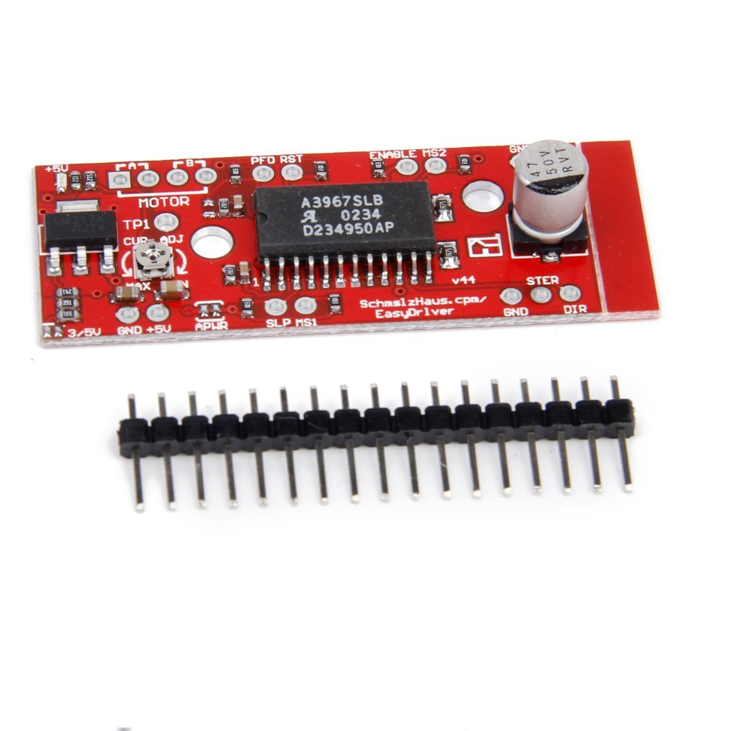 Fp motor shield v stepper driver a for arduino red