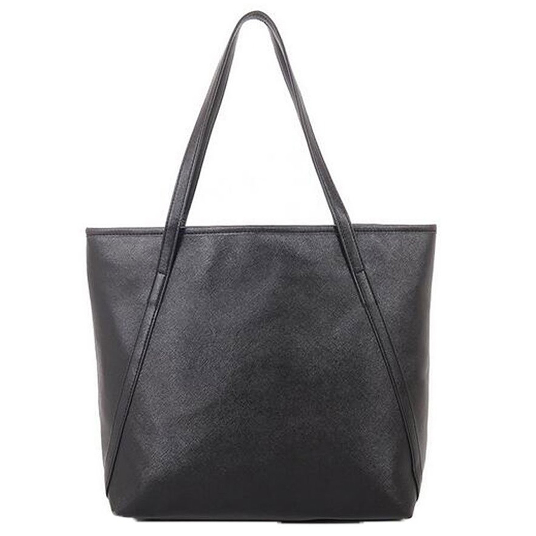 Women-Fashion-PU-Leather-Handbags-Shoulder-Bags-black-Z3M7